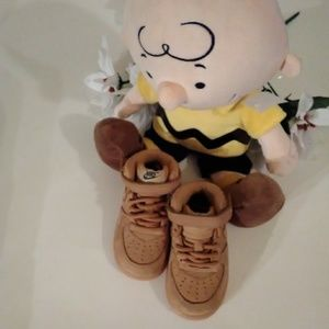 Toddler Nike Air Force 1 Mid Suede